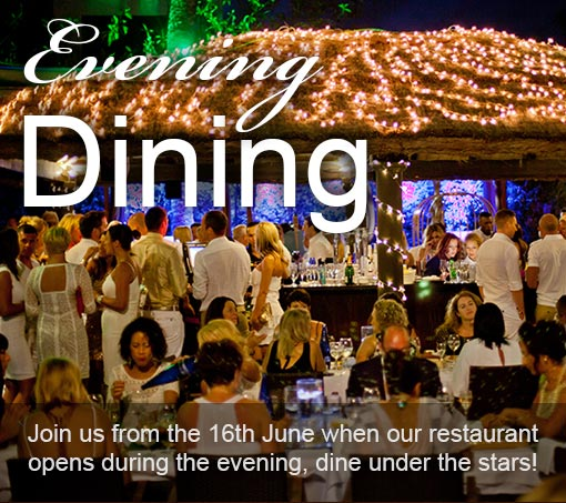Evening Dining La Sala by the Sea