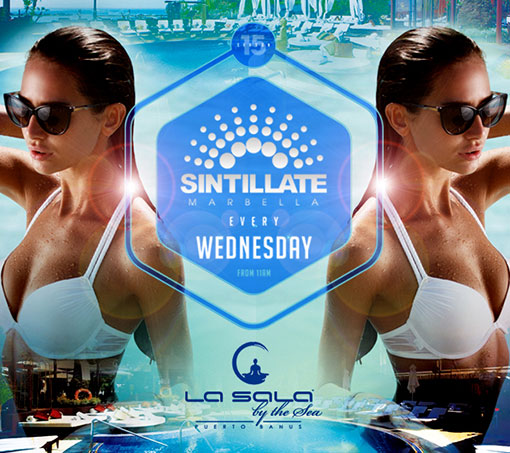 Sintillate every Wednesday at La Sala by the Sea