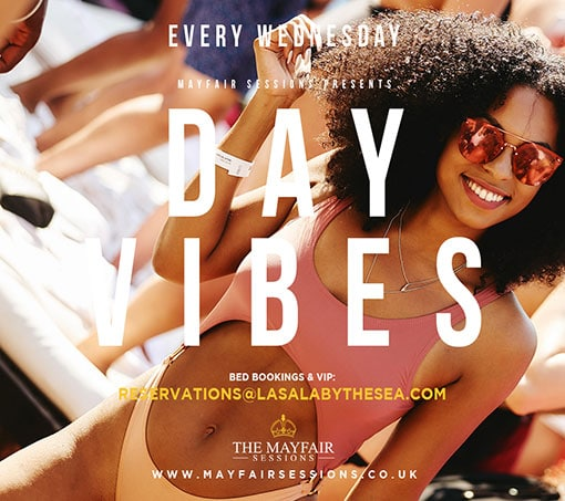 Every Wednesday Day Vibes at La Sala by the Sea