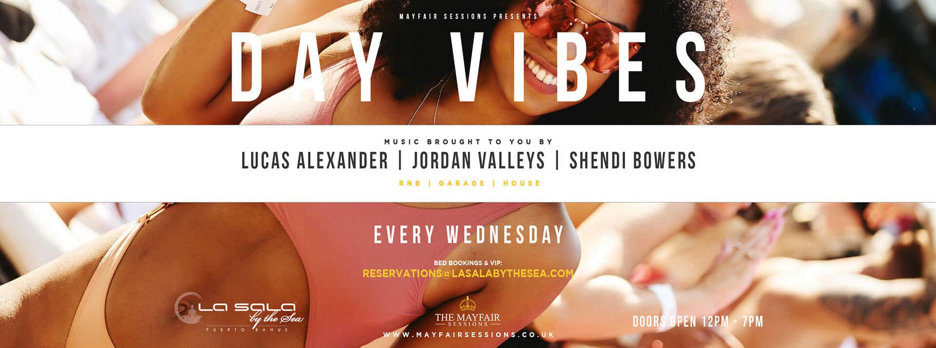 Day Vibes - Every Wednesday at La Sala by the Sea