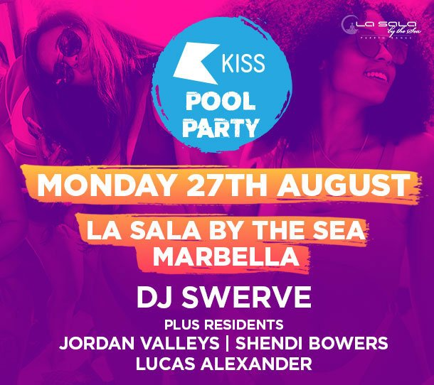 KISS Summer Pool Party - Marbella - at La Sala by the Sea
