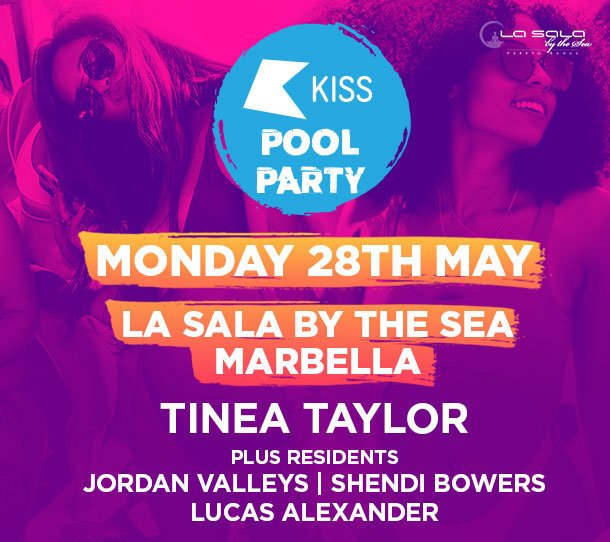 KISS Pool Party - Marbella - at La Sala by the Sea