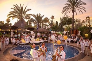 White & Gold Party 2018 at La Sala by the Sea