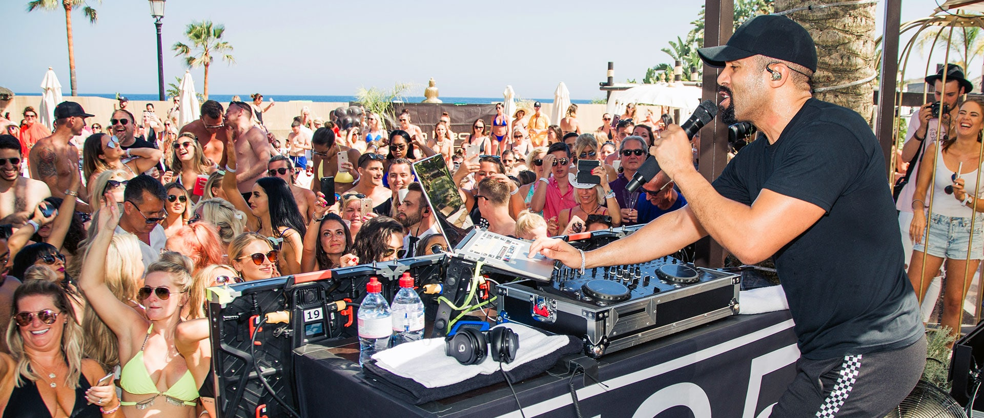 Marbella beach club events 2019 at La Sala by the Sea