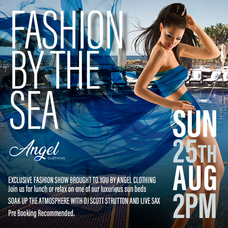 Marbella fashion show at La Sala by the Sea