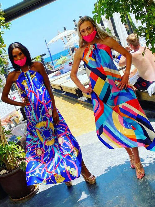 Exclusive Fashion Show will take place from 2pm at the popular beach club