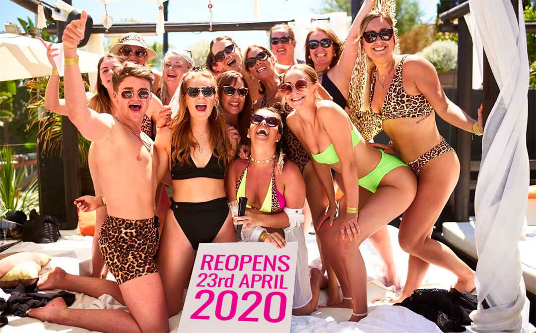 Marbella beach club 2020 opening and events