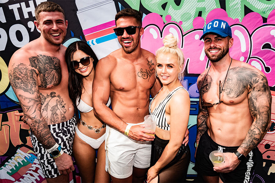 Marbella 'Born in the 90s' pool parties announced  in Marbella