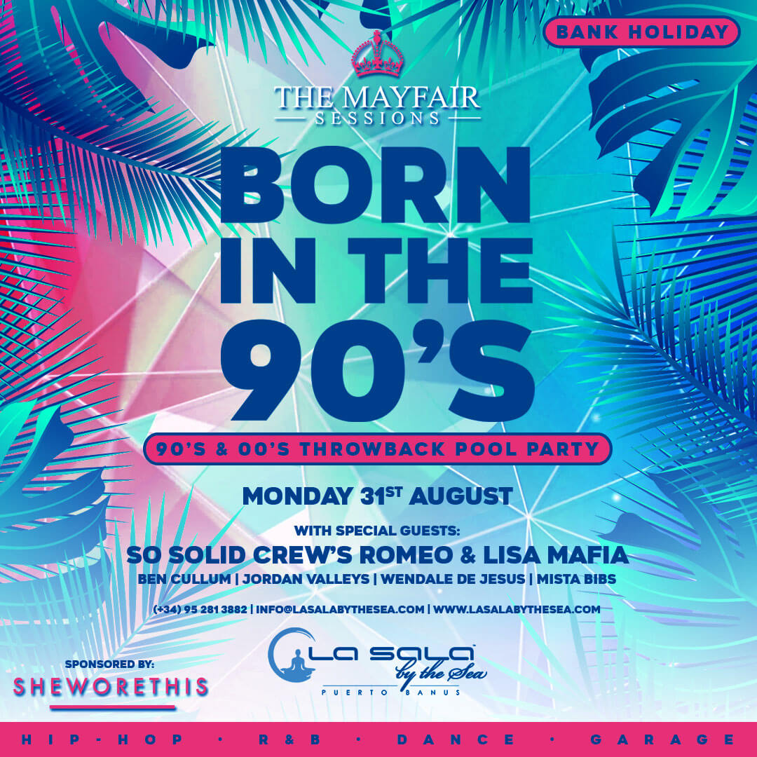 Marbella pool parties at La Sala by the Sea - August