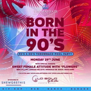 Marbella pool parties at La Sala by the Sea - June