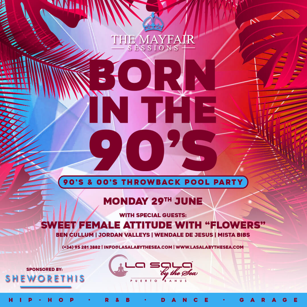 Marbella pool parties at La Sala by the Sea - June