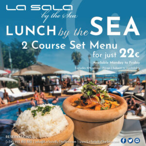 Set lunch at La Sala by the Sea
