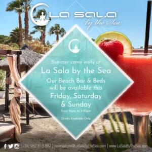 Beach Bar Weekend Opening