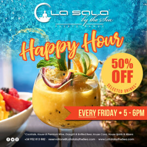 Happy Hour at La Sala by the Sea