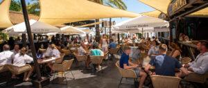 Club de playa y restaurante en Puerto Banús