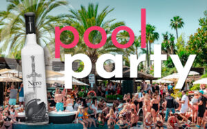 Pool party with Nero Vodka in Marbella
