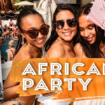 African party at La Sala by the Sea