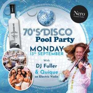 Nero 70's Disco Pool Party at La Sala by the Sea