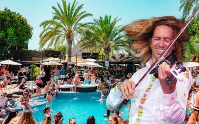 Nero Vodka Gladiator pool party